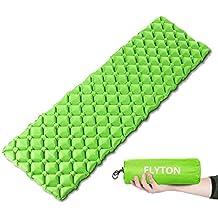 FLYTON Saco de dormir hinchable, ultraligero y compacto, para mochila, senderismo, hamaca