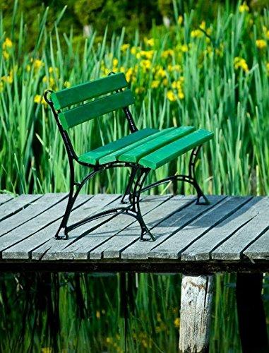 GOLD GARDEN G02001 Gartenbank Toskana aus grünem Fichtenholz 180 cm für 4 Personen