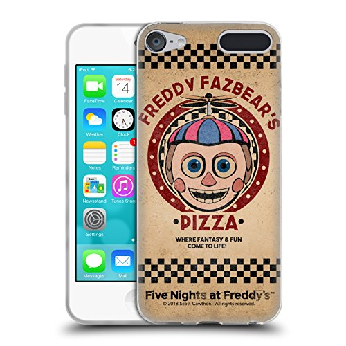 Official Five Nights At Freddy's Balloon Boy Freddy Fazbear's Pizza Soft Gel Case for Apple iPod Touch 6G 6th Gen