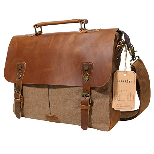 lifewit-14-inch-laptop-satchel-messenger-bag-leather-canvas-briefcase-for-13-inch-macbook-pro-surfac