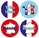 15mm French language reward stickers: 440 stickers