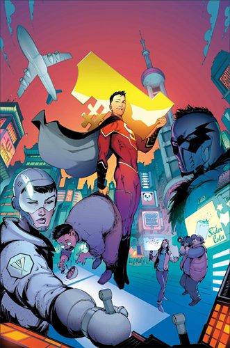 Justice League Récit complet 07 Le nouveau surhomme Made in China !