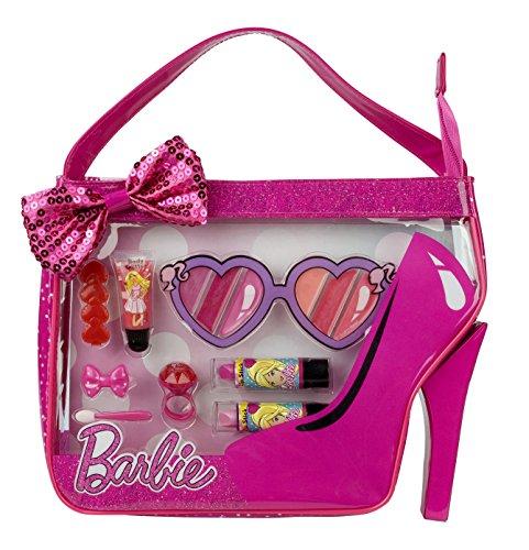 Barbie - Sweet Girl Cosmetics Tote, bolso con maquillaje (Markwins 9600910)