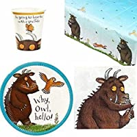 The Gruffalo Colourful Party Tableware Pack for 12