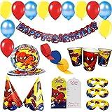ThemeHousePartyv Spiderman Birthday Party Combo