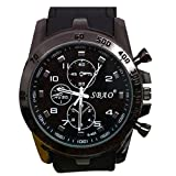 Goosuny Herren Uhr Analog-Digital Analog-Digital mit Silicone Armband S42