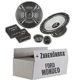 Ford Mondeo MK4 BA7 Front Heck - Helix - B 62C.2-16cm 2-Wege Lautsprecher System - Einbauset