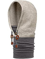 original buff thermal hoodie buff® fog - hoodie buff para unisex, color multicolor,  adulto