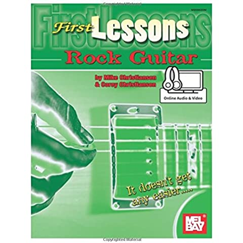 First Lessons Rock Guitar: Includes Online Audio/Video - First Lessons Rock Guitar