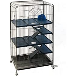 Perfect Cage pour rats/furets/écureuils/chinchillas