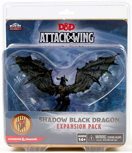 Wizkids - 332577 - Dungeons & Dragons Attack Vague Wing - Vague Attack 2 Black Shadow Dragon B00R3UD3SG 775e8b