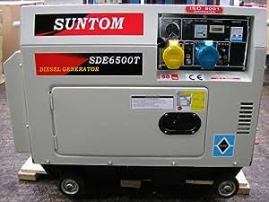 Suntom 6.5kva Diesel Generator Silent Type