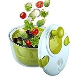 OVOS Essoreuse à Salade Grande Taille 5 litres Essoreuse pour Fruits et légumes...