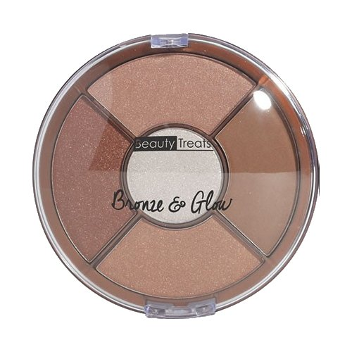BEAUTY TREATS Bronze and Glow Palette Shade 1