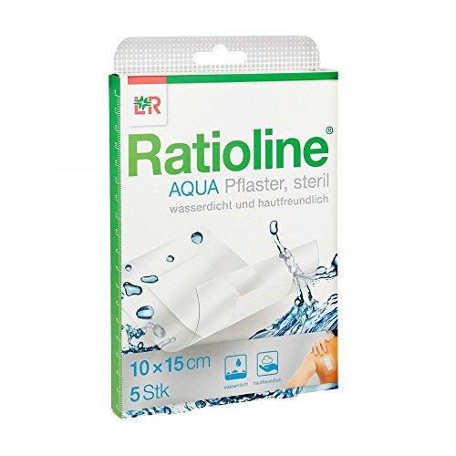 duschpflaster apotheke Ratioline aqua Duschpflaster Plus 10x15 cm steril 5 stk