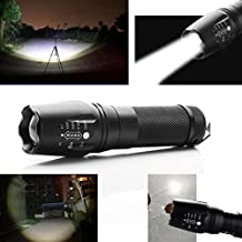 fenguh Ultrafire 2200LM Zoomable CREE XM-L T6 LED 18650/26650/AAA Flashlight Linterna Focus Torch Light