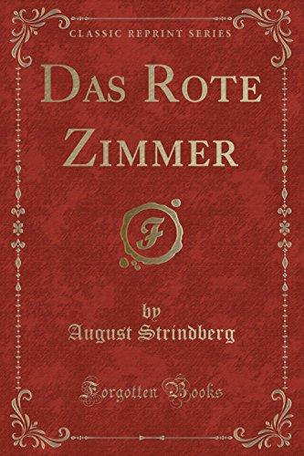 Das Rote Zimmer (Classic Reprint)