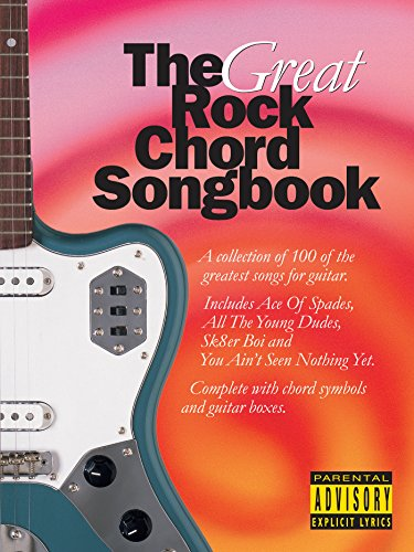 The Great Rock Chord Songbook (Chord Songbooks)