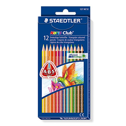 Staedtler 127 NC12 Buntstifte Noris Club Inhalt 12