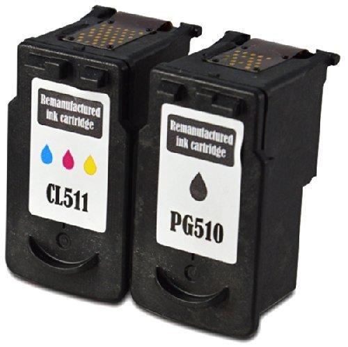 2-cartouches-dencre-compatibles-avec-canon-pg-510-cl-511-set