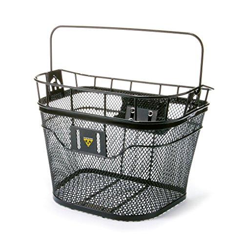 TOPEAK MTX Basket Front Fahrrad Korb Vorne Metall Einkauf Gepäckträger MTX System 40,5x33,5x24,1 cm, 15002087