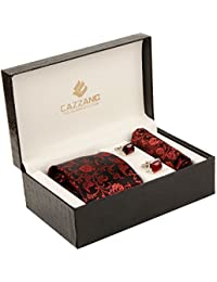 Cazzano Printed Men's Tie Set (TCPNC229)