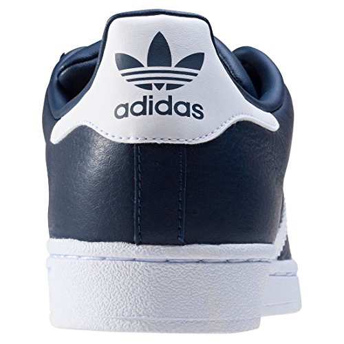adidas Originals Unisex-Erwachsene Superstar Weave Sneakers Blau