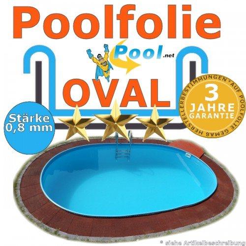 Poolfolie 5,85 x 3,50 x 0,8 mm 0,90 1,20 1,25 1,35 1,50 m Ersatzfolie Innenfolie Schwimmbadfolie 5,85 x 3,5 m Ovalpool 0,9 1,2 1,5 Innenhülle oval Pool folie Folien Poolfolien günstig kaufen
