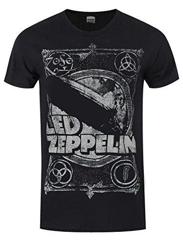 Led Zeppelin T-Shirt Shook Me da uomo in nero