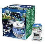 Humidificateur Vicks VUL575 Sweetdreams avec projecteur d'images + Vicks V70 Hygromètre et Thermomètre