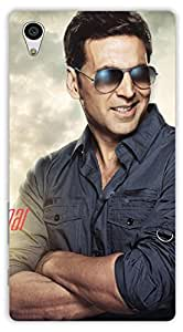 Crazy Beta Akshay Kumar Bollywood Superstar Printed Back Cover For Sony Xperia Z5
