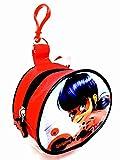 Miraculous CAT-CP-6002 Ladybug - Bolsa de Monedas con Bolsa y Llavero