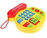 #9: BabyGo Cartoon Music Phone Toy Telephone For Learning and Education with Music