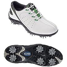 Footjoy - Zapatillas Deportivas para Golf Tamaño Junior - 45019 - Blanco/Verde, 38