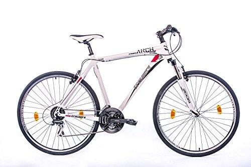 tretwerk DIREKT gute Räder Arch 1.0 Crossbike Herren 28 Zoll, Federgabel mit Lockout, Herren-Fahrrad, XL