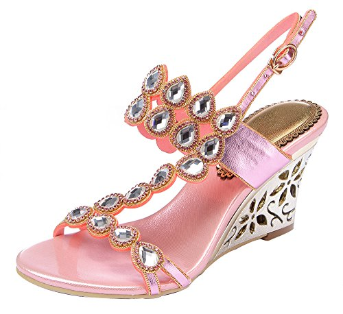 honeystore-womens-water-patterned-rhinestones-with-straps-wedge-sandals-pink-75-uk