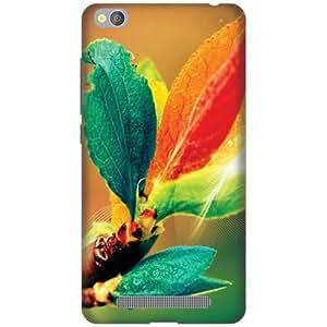 PrintlandPrintedHard Plastic Back Cover For Redmi 4A -Multicolor