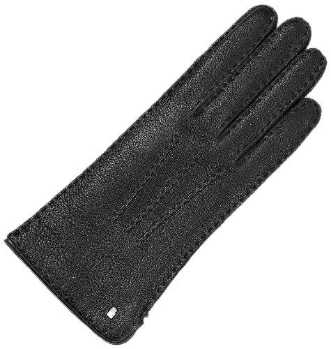 Roeckl Damen Handschuh Klassik Kaschmir 11013-444, Gr. 8, Schwarz (000)