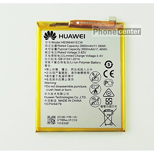 Batteria Original Huawei hb366481ecw per P9, P8Lite 2017, P10Lite, Honor 8, 5C, 7Lite, Bulk