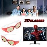 Universal 3D Brillen für TOSHIBA 46TL966G 40TL868G 46TL868B SONY SHARP PHILIP