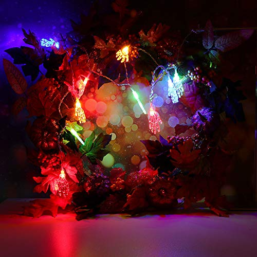 String Light TAOtTAO 5 m Halloween String Light mit 20 LED-Lichtleiste Party Garden Patio Dekoration (Mehrfarbig)