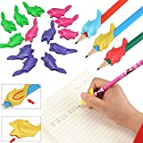 Best Pens For Lefties - Tiptiper Pencil Grips, 10Pcs/Set Pen Pencil Grip Corrector Review