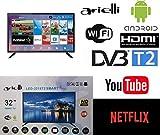 Smart TV 32 Pollici Arielli LED-3218T2 Display 32' Led - 1366x768 HD Ready -...