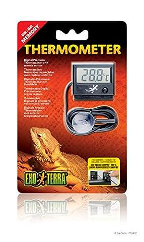 Exoterra Thermomètre Digital pour Reptiles et Amphibiens