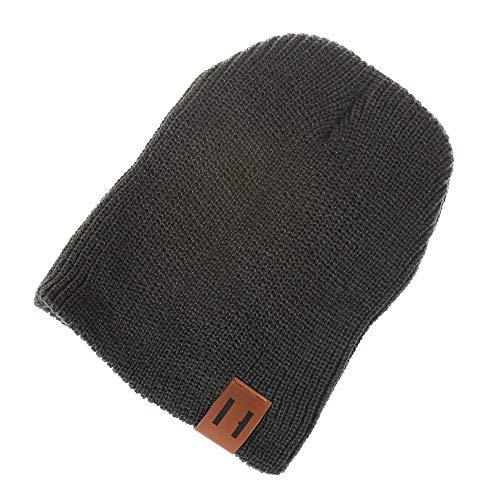 Imagen de ovinee sombrero de punto de lana color sólido de hombre y mujer. orejeras.  padre hijo,unisex,outdoor sportswear,para caza, camping, senderismo, viajes,guapo,mantener,caliente