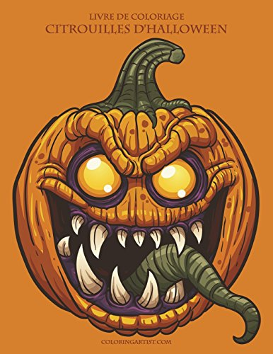 Livre de coloriage Citrouilles d'Halloween par Nick Snels