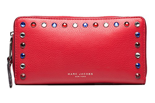 Marc-Jacobs-Womens-Leather-Pyt-Continental-Wallet-Red