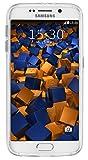 mumbi Schutzhülle Samsung Galaxy S6 / S6 Duos Hülle transparent weiss (Slim – 1.2 mm) - 6