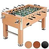 Jago - Futbolín de madera y altura regulable – color madera