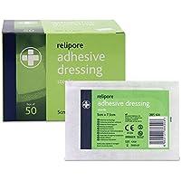 Reliance Medical relipore Sterile selbstklebend Dressing Pads, 7.5cm Länge x 5cm Breite Box von 50 preisvergleich bei billige-tabletten.eu